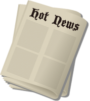 Newspaper,Press vector icon 2