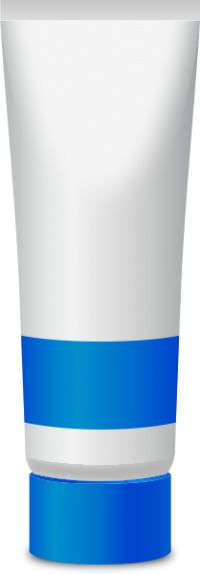 PAINT TUBE BLUE free vector data
