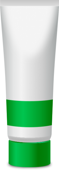 PAINT TUBE GREEN free vector data