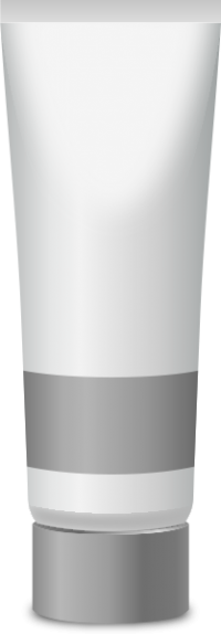 PAINT TUBE LIGHT GRAY free vector data