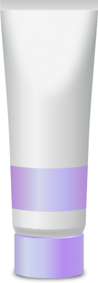 PAINT TUBE LILAC PURPLE free vector data