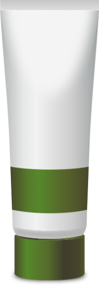 PAINT TUBE OLIVE GREEN free vector data