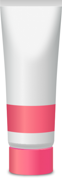 PAINT TUBE PINK free vector data