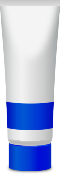 PAINT TUBE ULTRAMARINE BLUE free vector data