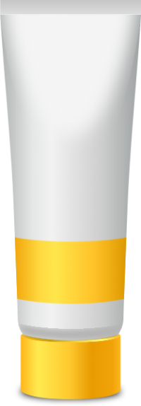 PAINT TUBE YELLOW free vector data