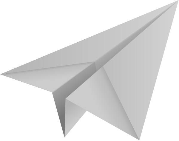 Turquoise blue paper plane, paper aeroplane vector icon data for ...