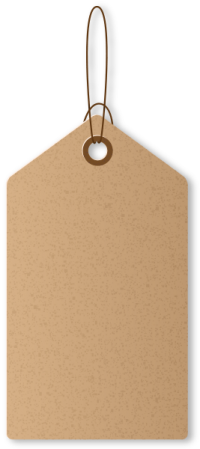 PAPER TAG BROWN01 free data