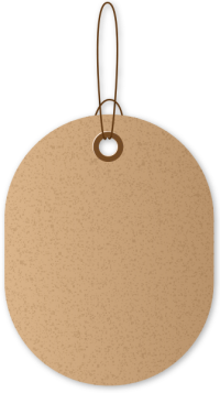PAPER TAG BROWN02 free data