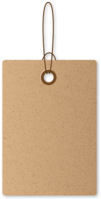 PAPER TAG BROWN03 free data