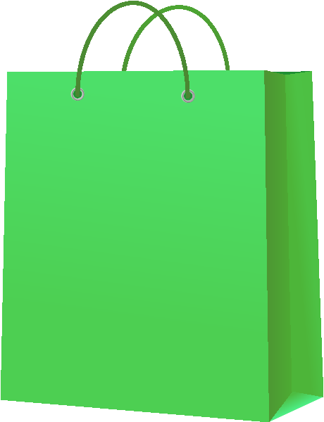Paper Bag Design Vector Paper Bag Light Green Vector