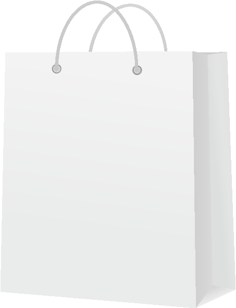PAPER BAG WHITE vector icon | SVG(VECTOR):Public Domain ...White Paper Bag Vector
