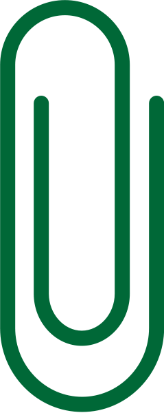 paperclip_dark_green