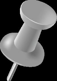 GRAY PIN