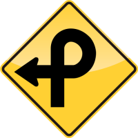 PRETZEL LOOP Sign