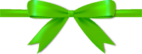 Green Bow Ribbon Icon Vector Data