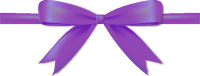 Purple Bow Ribbon Icon Vector Data