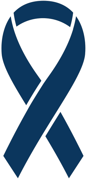 Dark Blue Ribbon Sticker Icon2 Vector Data.