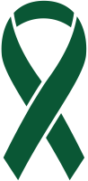 Dark Green Ribbon Sticker Icon2 Vector Data.