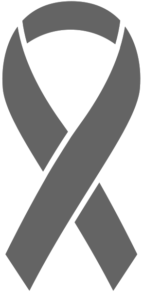 Gray Ribbon Sticker Icon2 Vector Data.