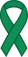 Green Ribbon Sticker Icon.vector data