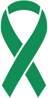 Green Ribbon Sticker Icon2 Vector Data.