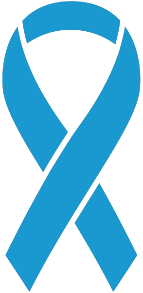 Light Blue Ribbon Sticker Icon2 Vector Data.