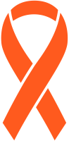 Orange Ribbon Sticker Icon2 Vector Data.