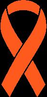 Orange Ribbon Sticker Icon2 Vector Data.