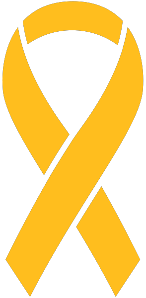 Yellow Ribbon Sticker Icon2 Vector Data.