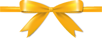 Yellow Bow Ribbon Icon Vector Data