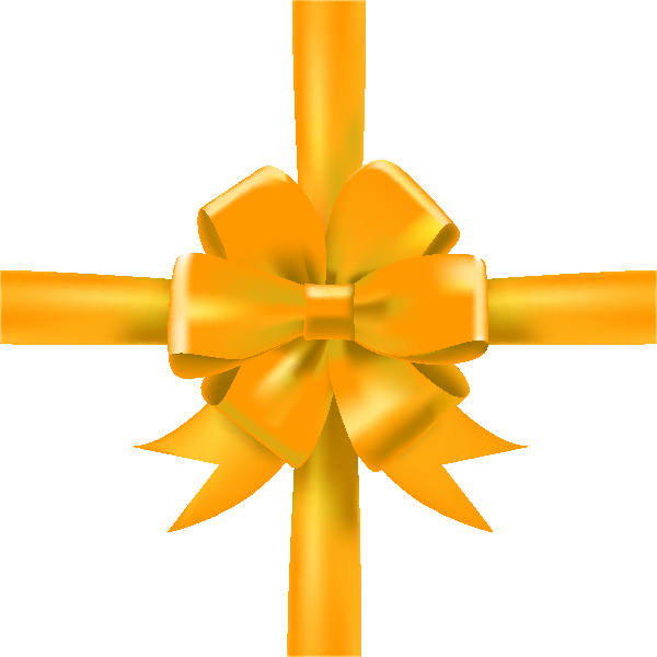 Yellow Bow Png Yellow Bow Ribbon Icon3 Vector