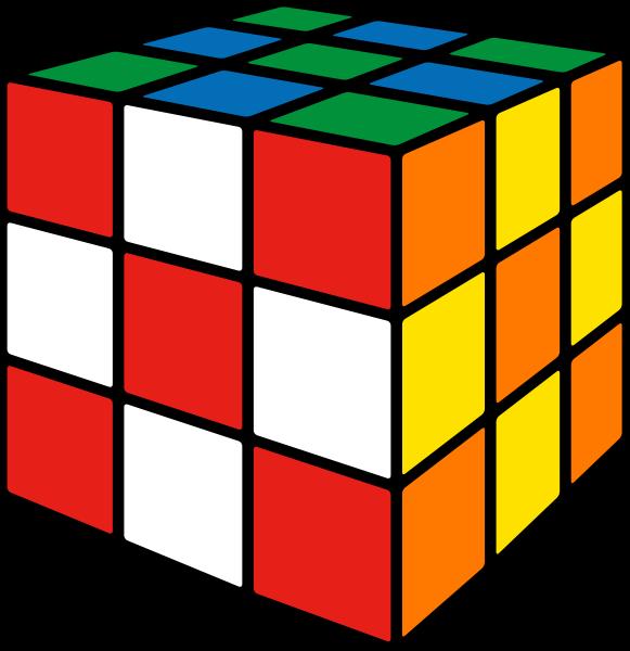Rubik's cube soccer2 vector icon