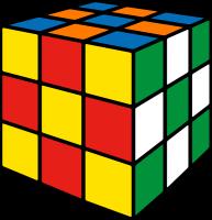Rubik's cube soccer3 vector icon