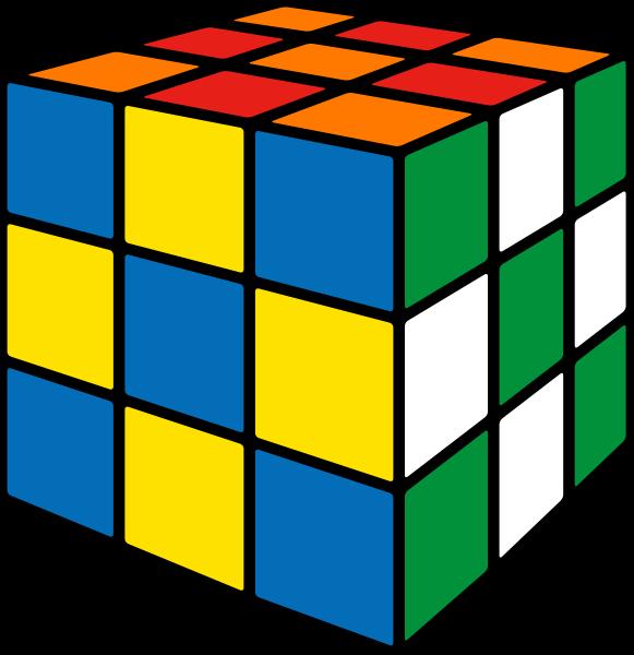Rubik's cube soccer5 vector icon