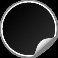 Circle seal BLACK