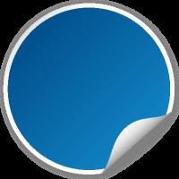 Circle seal BLUE