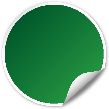 Circle seal GREEN | SVG(VECTOR):Public Domain | ICON PARK ...