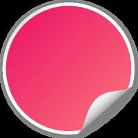 Circle seal PINK