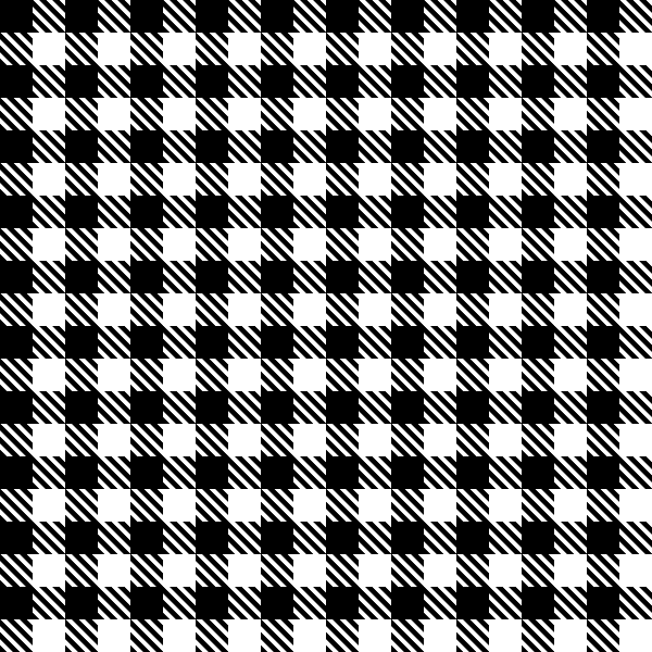 Black shepherd's check01 texture pattern vector data