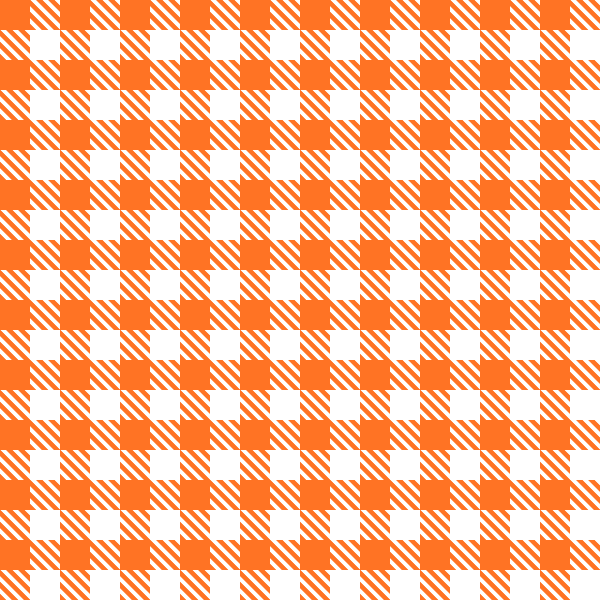 Orange1 shepherd's check01 texture pattern vector data