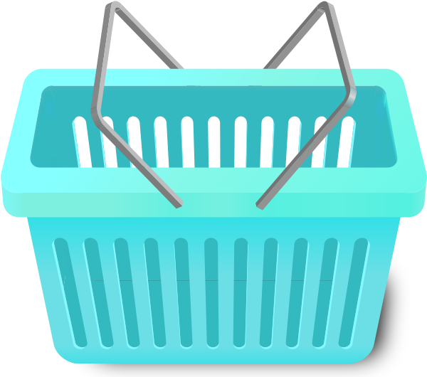 shopping_cart_-turquoise_blue