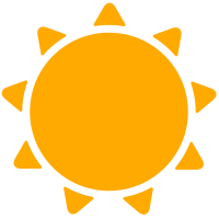 simple weather icons sunny