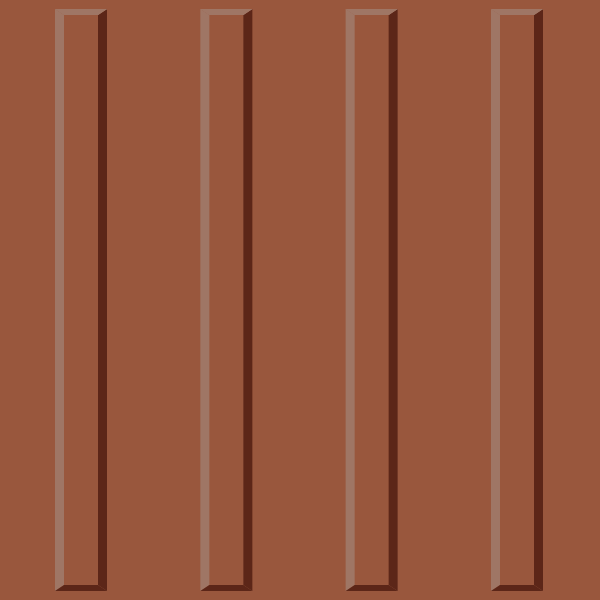 Brown tactile paving 03. free vector data.