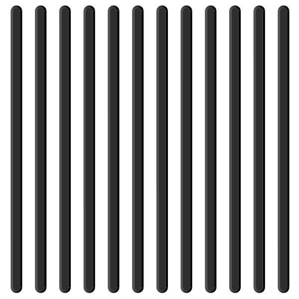 Black tactile paving 04. free vector data.