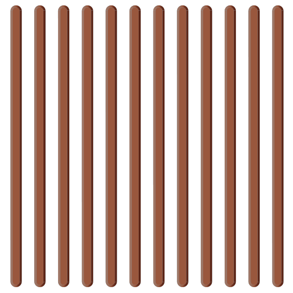 Brown tactile paving 04. free vector data.