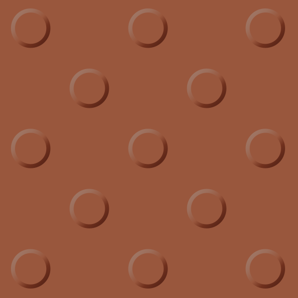 Brown tactile paving 06. free vector data.