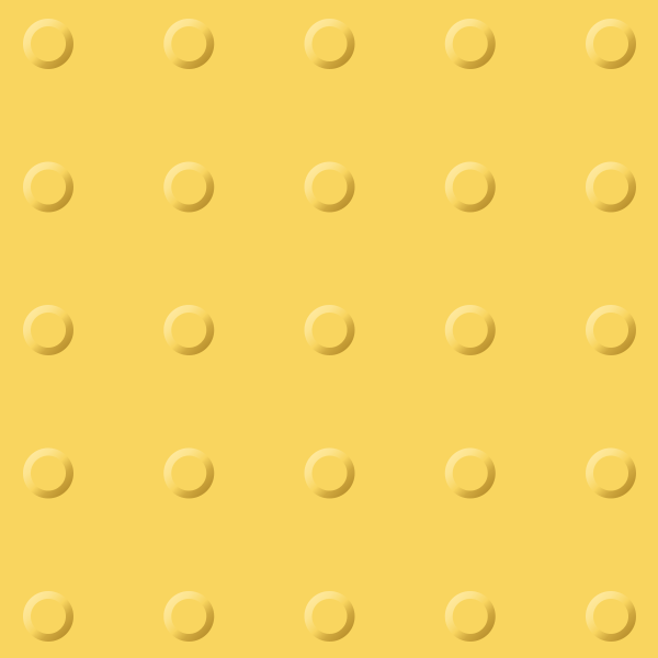 Yellow tactile paving 07. free vector data.