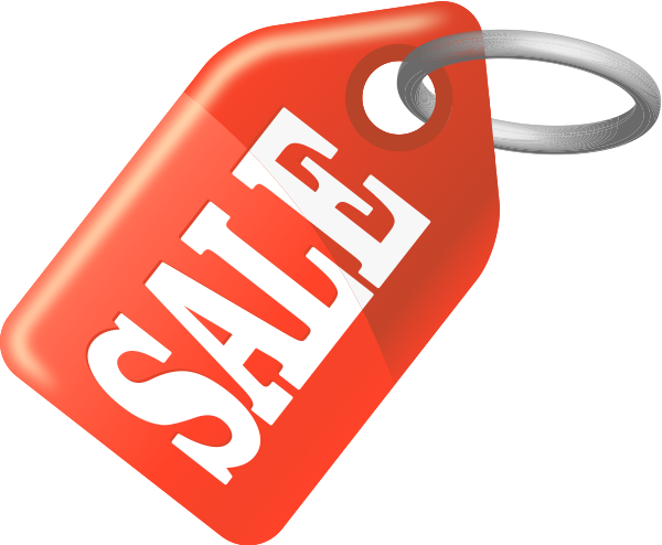 Sale Vector Png Sale Tag Orange Vector Icon