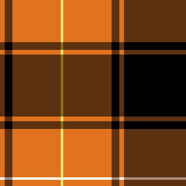 tartan_check02_orange2-2