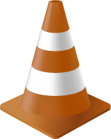 Brown Traffic Cone vector data for free